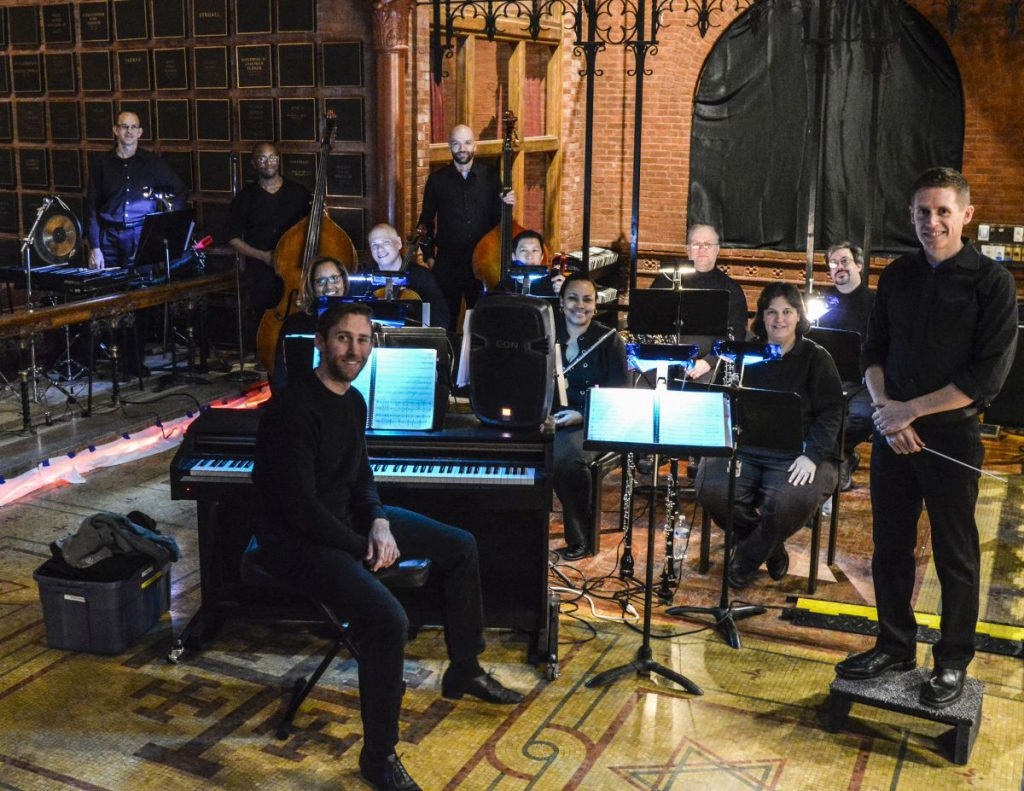 My fantastic orchestra for Sweeney Todd
