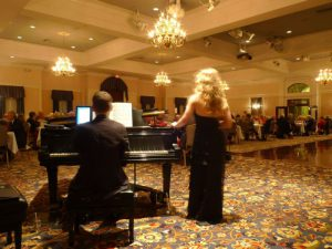 Jay and Tessa Frost Performing