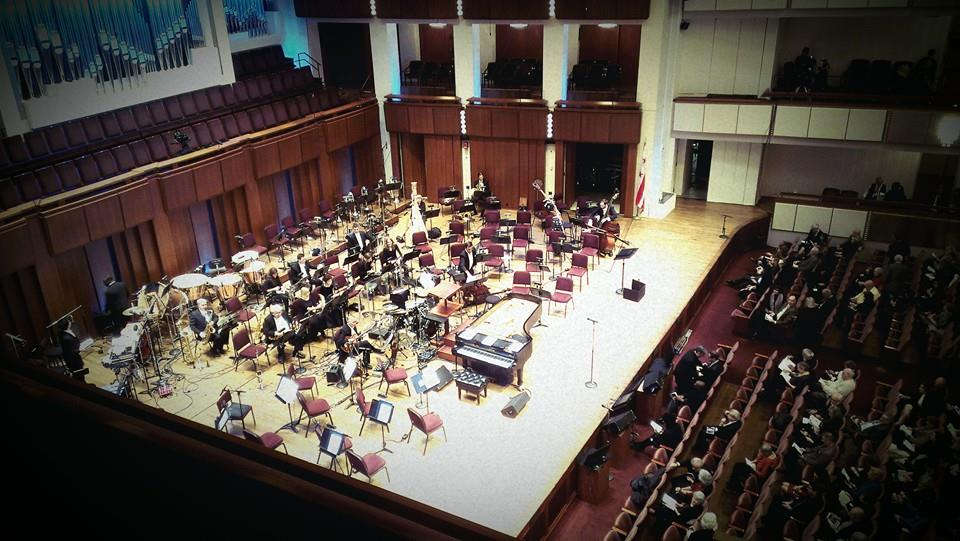 Kennedy Center Stage before American Voices Concert