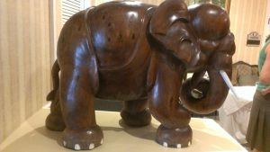 Giant Elephant at the entrance to the National Republican Club